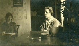 ஆனந்த குமாரசாமி மற்றும் ஸ்ரெலா 1918